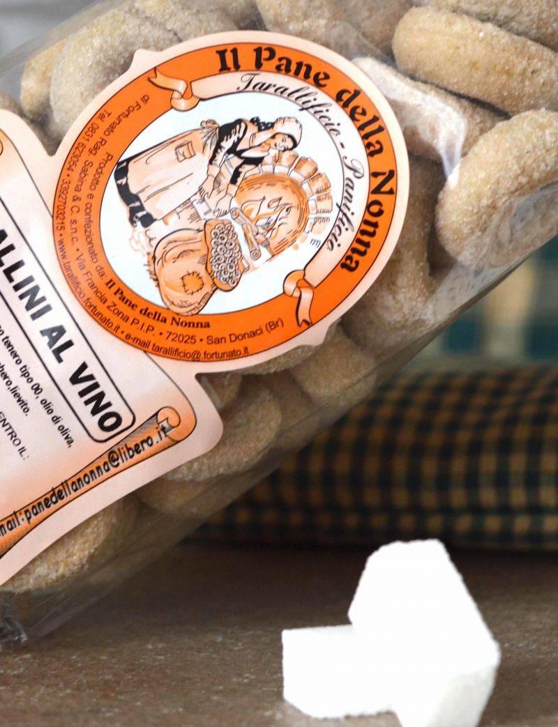 Tarallini al Vino Primitivo Prodotti tipici salentini online 11