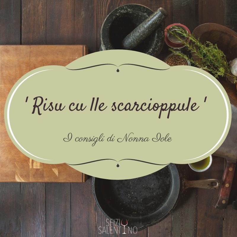 'RISU CU LLE SCARCIOPPULE' (Riso e Carciofi)