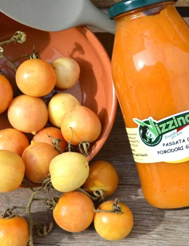 Passata di Pomodori Gialli Vizzino 5