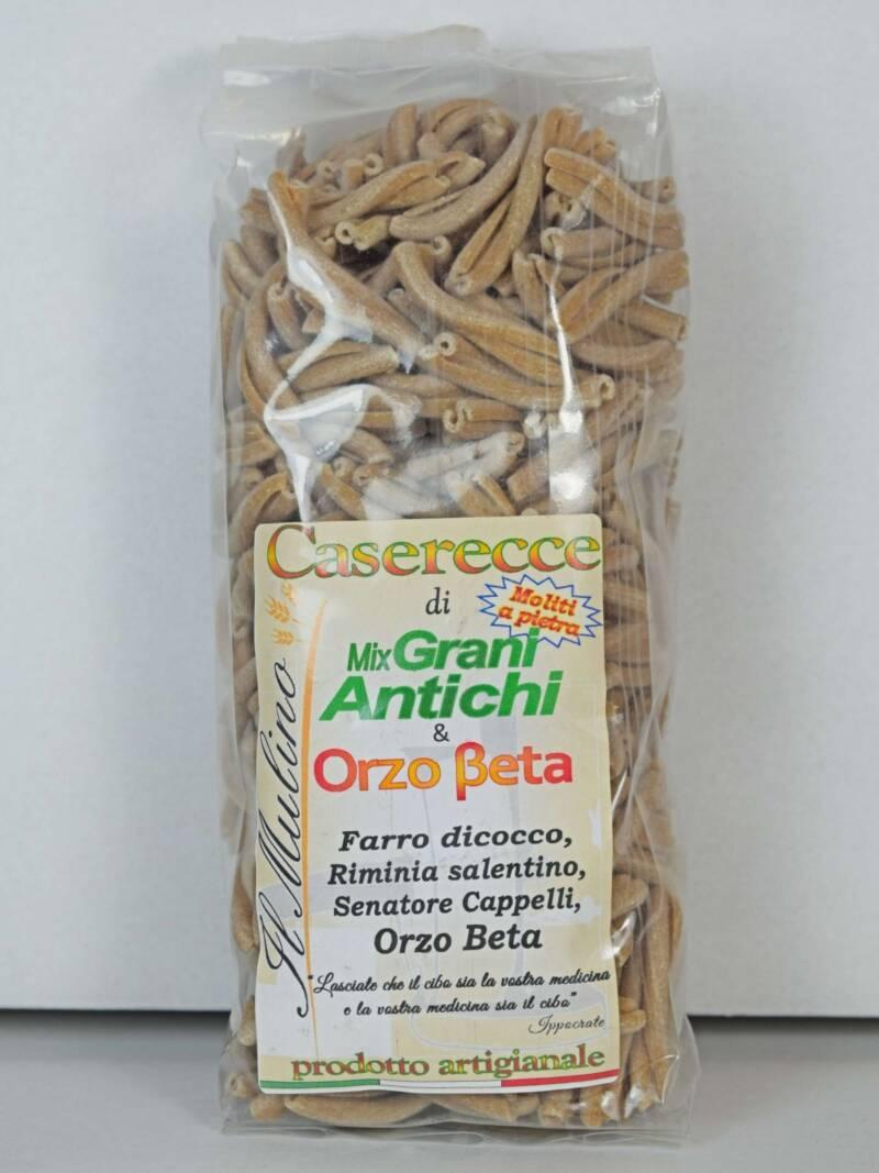 Caserecce Mix Grani Antichi e Orzo Beta SfizioSalentino.it