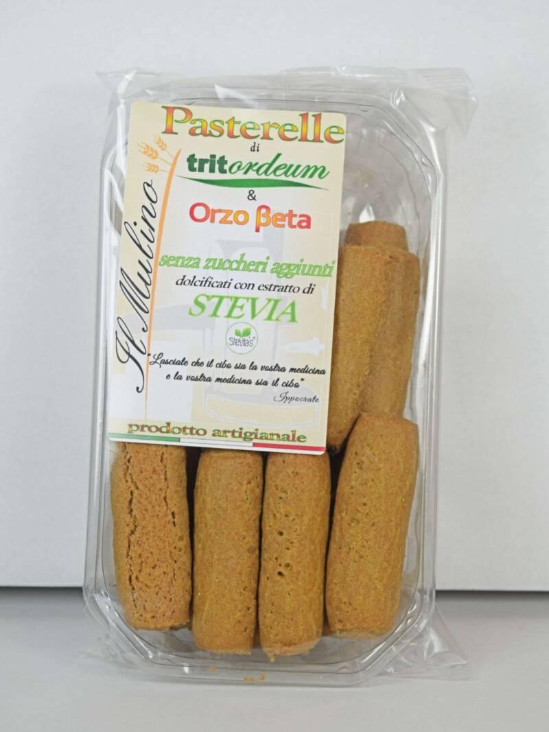 Pasterelle di Tritordeum con Orzo Beta e Stevia SfizioSalentino.it