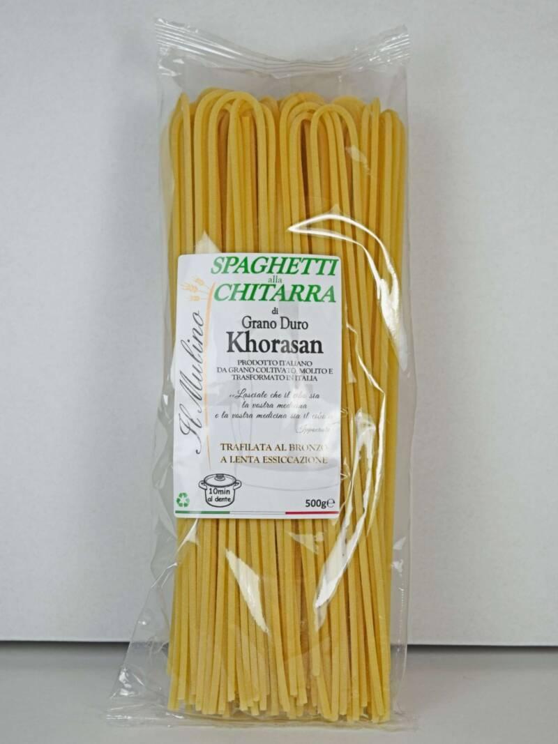 Spaghetti alla Chitarra di Khorasan SfizioSalentino.it
