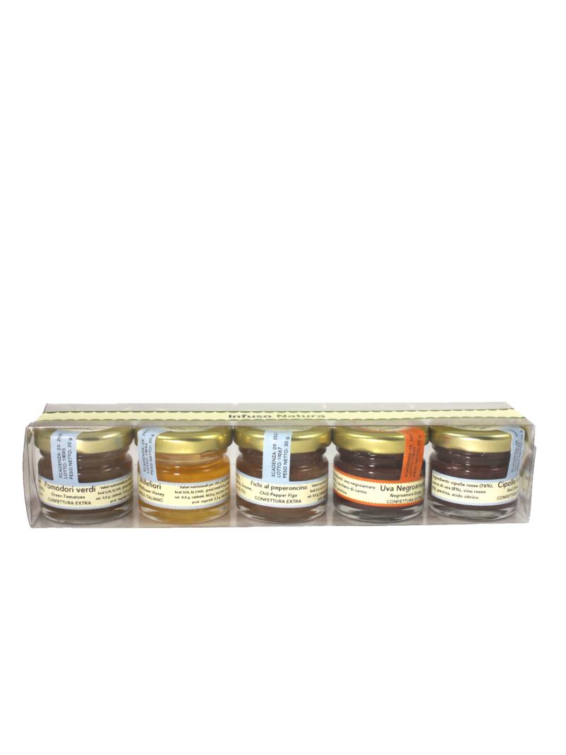 Kit Degustazione Confetture - 5 gusti
