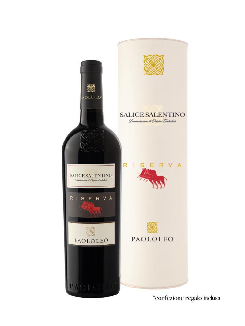 Salice Salentino Riserva + Astuccio - Sfizio Salentino